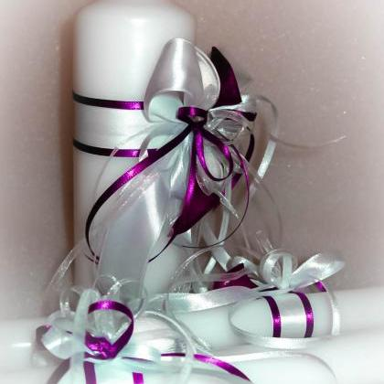 Handmade Wedding Unity Candles &quo..