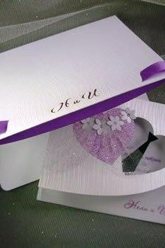 Bridal Wedding Invitation Envelopes, Handmade Invitation Envelopes, Heart Shaped Envelopes